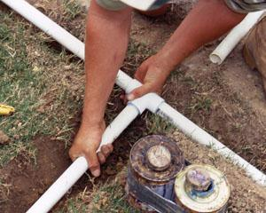Sprinkler Pipe Repair